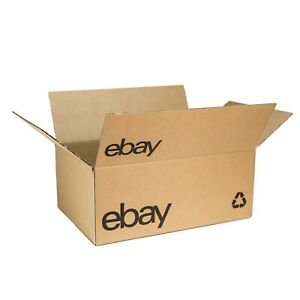 "eBay-Branded Boxes With Black Color Logo 15"" x 10"" x 6"" (A Great Shoe Box)"