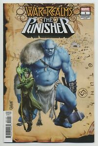 WAR-OF-THE-REALMS-THE-PUNISHER-1-MARVEL-comics-NM-2019-War-of-the-Realms