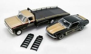 SMOKEY-YUNICK-1970-FORD-F-350-RAMP-TRUCK-w-11-1969-FORD-TRANS-AM-MUSTANG