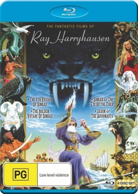 Ray Harryhausen's Blu Ray Collection (Limited Edition) NEW B Region Blu Ray