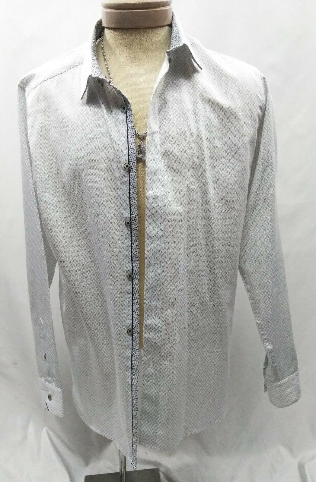 NWOT Ted baker White Detailed Shirt Size 5