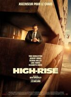 High Rise Movie Poster - Tom Hiddleston Poster 12 X 17 Inches (french Style)