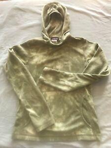 e3adf17f5761d Image is loading PATAGONIA-SYNCHILLA-Pullover-Lightweight-Fleece-HOODIE -Green-Camo-