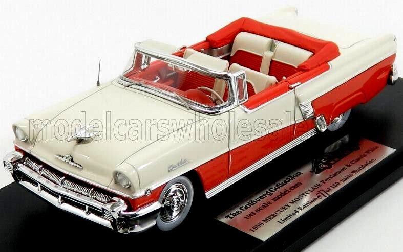 Wonderful modelcar  MERCURY MONCLAIR MONCLAIR MONCLAIR CONgreenIBLE 1956 - red white - 1 43 b28dba