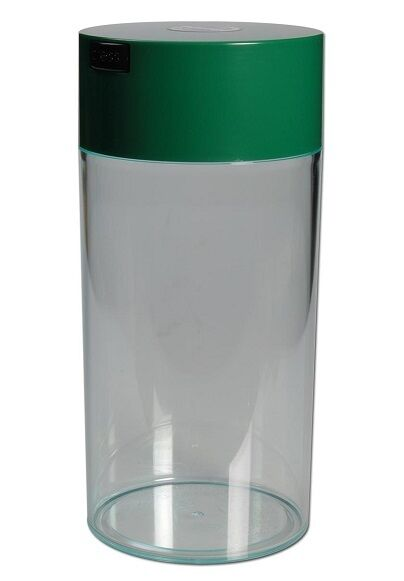 Tightpac Vacuum Container Box 79.5oz 10 3 16in x 4 13 16in Plastic Clear Green