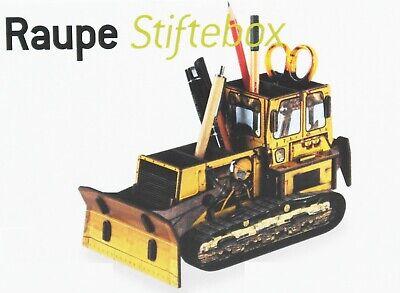 Steckbausatz Stiftebecher Stiftebox Zettelbox RENAULT R4 Werkhaus Design