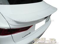 Painted 083 White Trd Look Trunk Spoiler Lip 2014 Lexus Is250 Is350 Is F