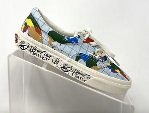 Vans-Womens-Size-5-Vans-Era-Save-Our-Planet-Canvas-Classic-Skate-Shoes
