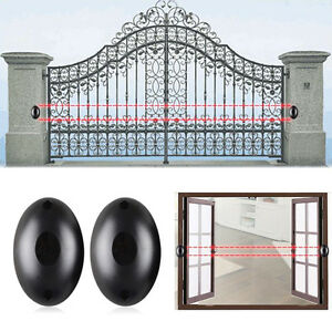 Alarm-Sicherheit-IR-Lichtschranke-A-Infrarot-Detektor-IR-Bewegungsmelder-K0F9