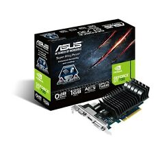 Asus GeForce GT 730 Silent Graphics Card, 1GB GDDR3, VGA, DVi-D, HDMI