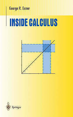 Inside Calculus by George R. Exner (Hardback, 1999)