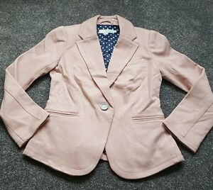 Boden-Ladies-pretty-Pink-EMILIA-PONTE-BLAZER-UK-Size-6P-Brand-new