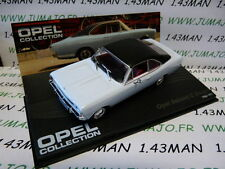 voiture 1/43 IXO eagle moss OPEL collection n°62 : REKORD C Coupé 1966/1971