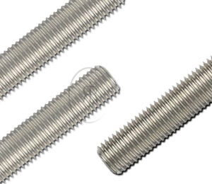 M27 27mm Threaded Bar Studding MARINE GRADE A4 STAINLESS STEEL Threaded Rod