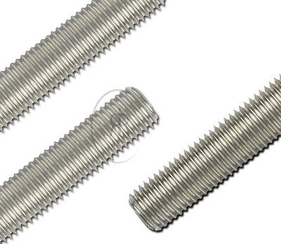 Threaded Bar Studding Threaded BAR / A2 STAINLESS STEEL -Sizes from M4 upto M20