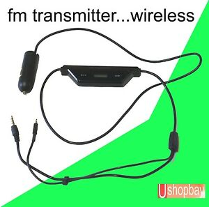 FM-Radio-Transmitter-for-iphone-5-6-8pin-plug-Smart-Phone-Car-usb-Charger