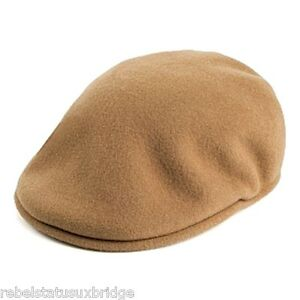 KANGOL Hat 504 Wool Flat Beret Ivy Cap 0258BC Winter Camel Sizes  S ... 8c4d00f89c6