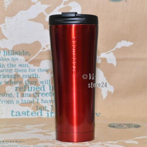 STARBUCKS Edelstahl TUMBLER Thermobecher Kaffeebecher Becher Mug stainless steel