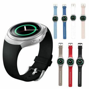 Neu-Sport-Silikon-Uhr-Armband-Uhrenarmbaender-Band-fuer-Samsung-Gear-S2-BSM-R720