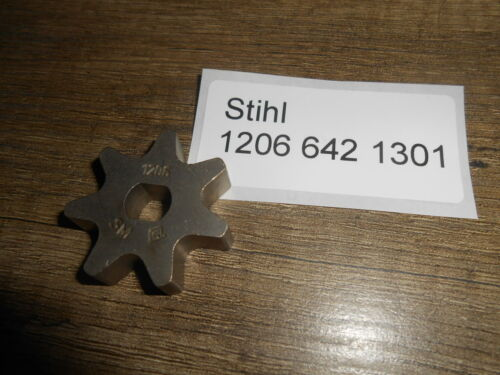Original Stihl MSE 210C MSE 230C Kettenrad 3//8 Picco 7Z 1206 642 1301