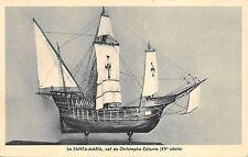 BF4562 ship bateaux la sainta maria nef de christophe france