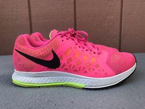 Details about Nike Pegasus 31 Running Shoes Women US 9.5 654486-600 Hyper Pink Black Volt C6
