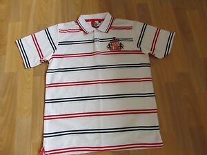 Image is loading SAFC-Store-SUNDERLAND-Striped-FOOTBALL-Shirt-ADULT-Size- aad9b93f10