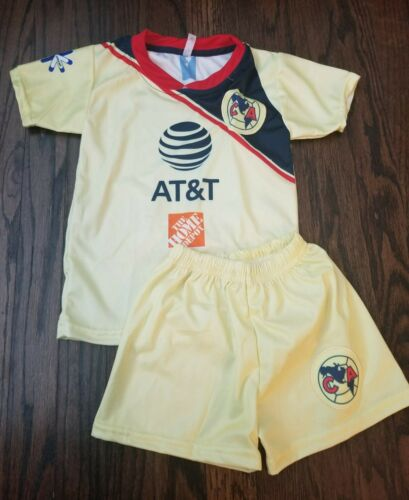 Club America kid/'s Home Soccer Jersey Futbol Liga MX