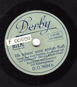Derby Orchester 1930 : Ich träum vom ersten Kuss In deinen Augen da wohnt di - Neckarsteinach, Deutschland - Derby Orchester 1930 : Ich träum vom ersten Kuss In deinen Augen da wohnt di - Neckarsteinach, Deutschland