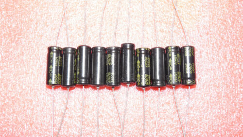 assiale 10 pezzi Elko 470µf 16v condensatore frolyt NOS DDR