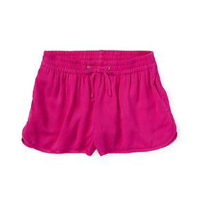 Ralph-Lauren-Childrenswear-Girls-039-Track-Shorts-in-Regatta-Pink-Size-Large-12-14