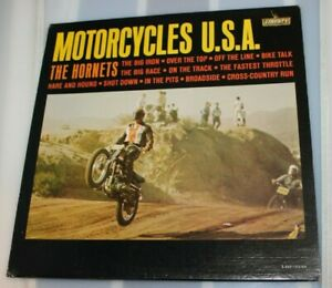 1963-Vintage-Motorcycles-U-S-A-LP-Record-Album-by-the-Hornets