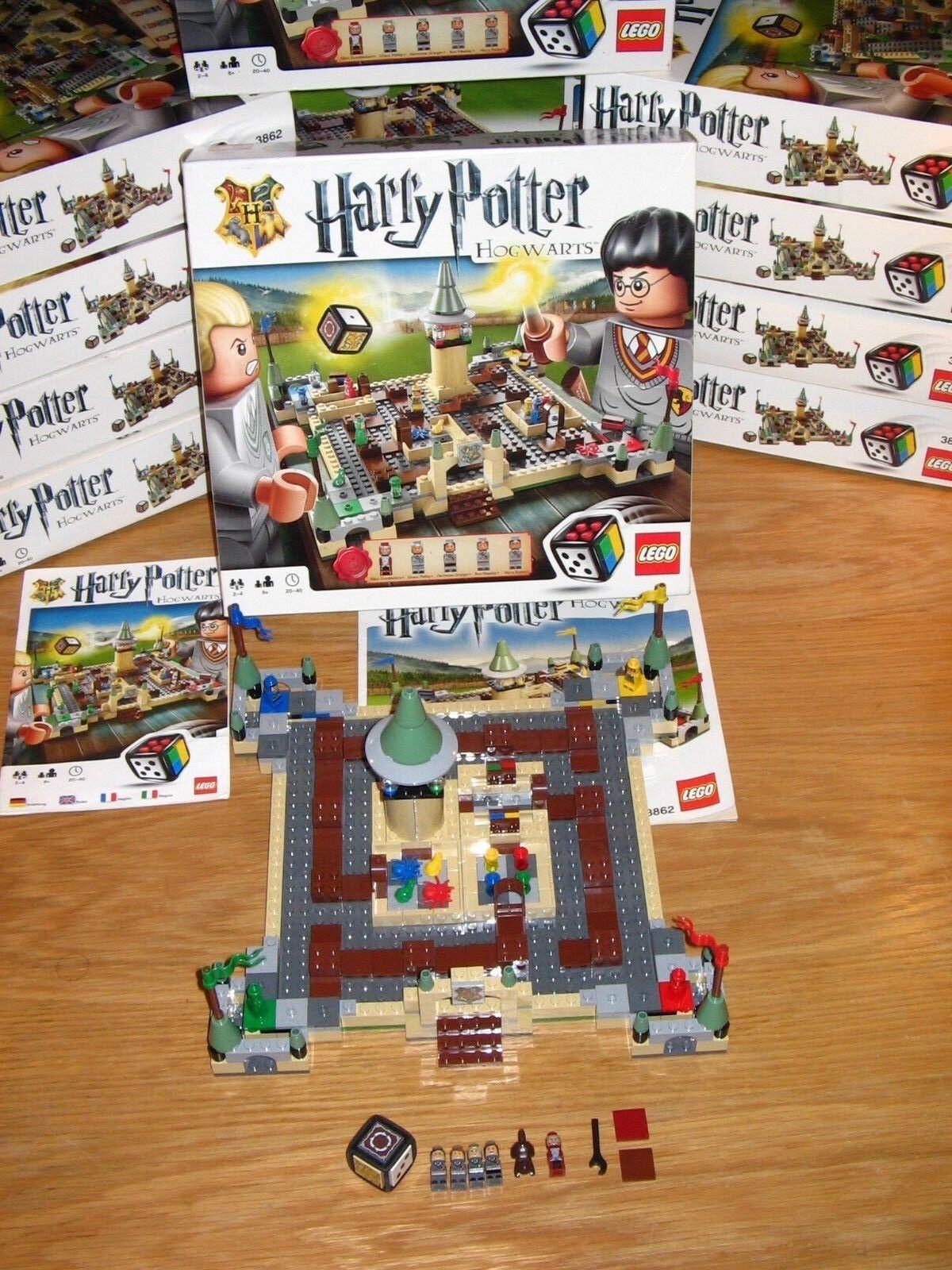 RARE LEGO Games Harry Potter Hogwarts 3862 Board Game - UK TRUSTED SELLER