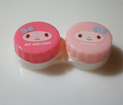 NEW SANRIO My Melody KAWAII Contact Lens Case from JAPAN Pink /& Ivory