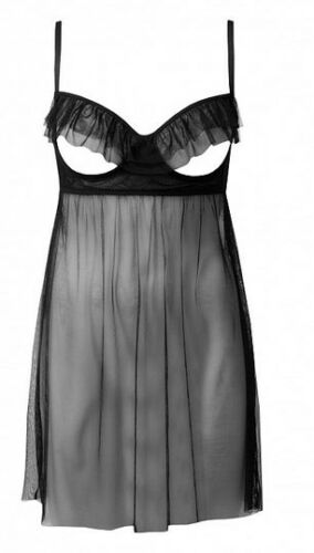 NEW TEZENIS by INTIMISSIMI black transparent Baby Doll nighty sizes