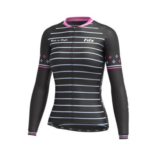 """Thermique Maillot de cyclisme Combo Femme FDX /""""édition limitée/"""" cycling bib Collants"""