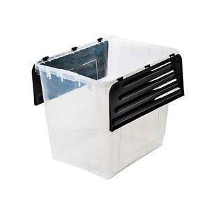 Aufbewahrungsbox-mit-Klapp-Deckel-60-L-Box-Boxen-Stapelboxen-Kunststoffboxen