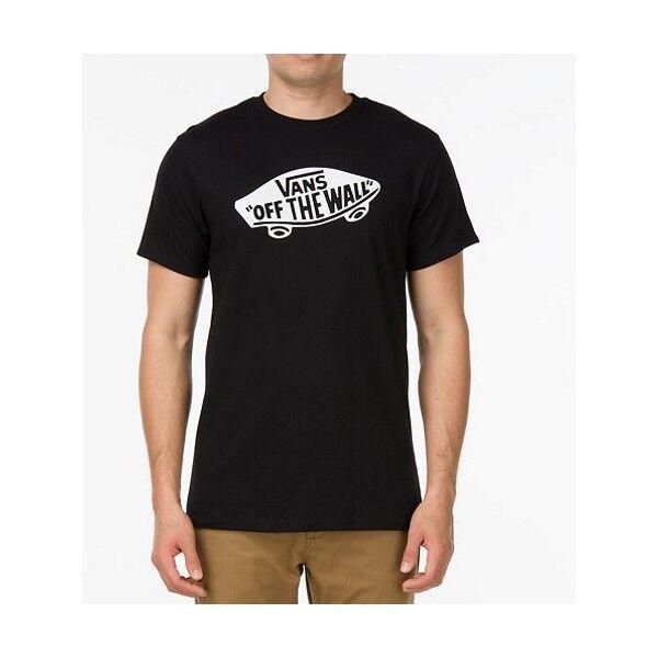 1b2c78ac6d VANS T-shirt Men VANS OTW Vjayy28 Black White XL for sale online