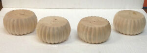 Fluted-Bun-Unfinished-Furniture-Feet-Chair-sofa-Couch-Legs-4-legs-3-034-056