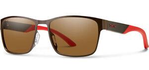 Smith Optics Contra Polarized Men's Stainless Steel Sunglasses - CRPPBRMBR