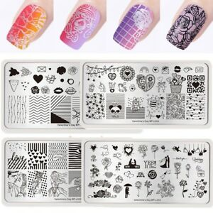 Image Is Loading Valentine 039 S Day Born Pretty Nail Stamping