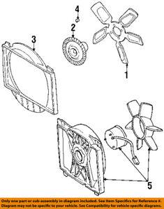 jeep chrysler oem 97 01 cherokee radiator cooling fan blade shroud 1994 Jeep Cherokee Radiator Diagram image is loading jeep chrysler oem 97 01 cherokee radiator cooling