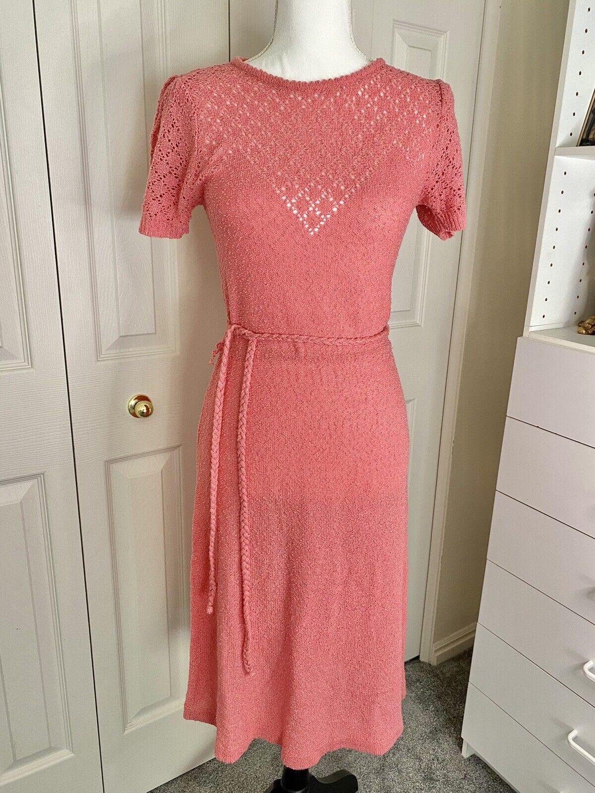 Vintage 1980's Dress, MS II, Women's Size M Petit… - image 1