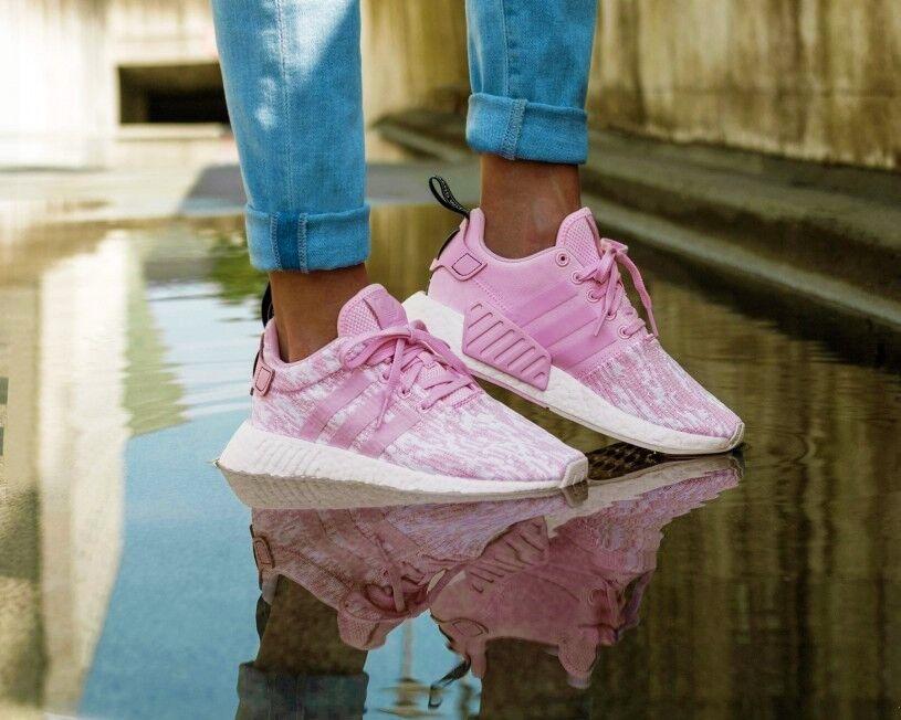 Recortes de precios estacionales, beneficios de descuento BNWB & Original Adidas Originals ® NMD R2 Wonder Rosa Zapatillas Size 6.5
