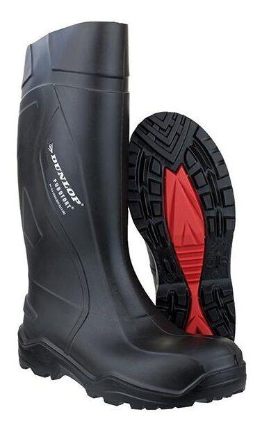 Dunlop botas purofort + s5 CI, negro Gr. 39-47  nuevo
