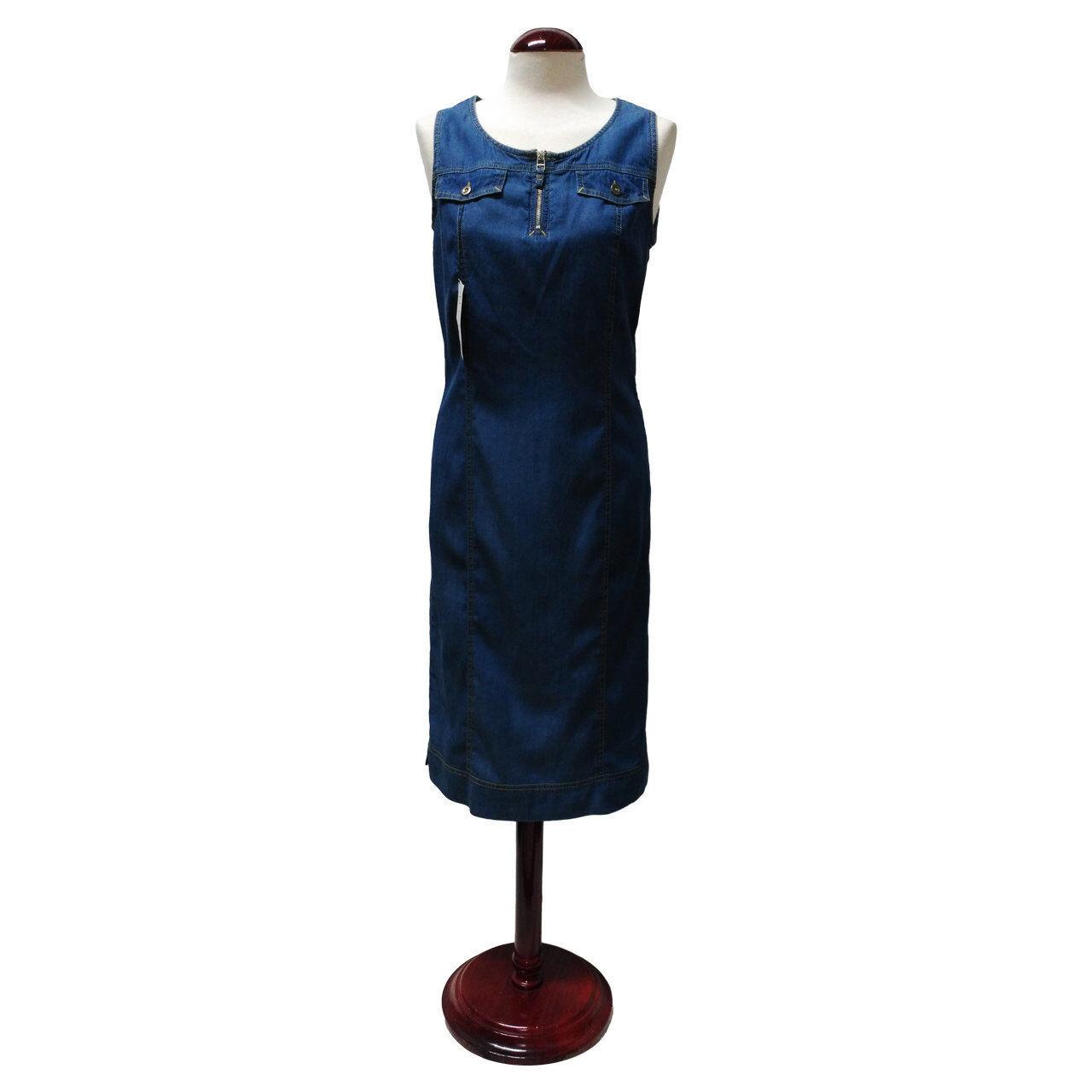 NEW Kitara Tencel Denim Jumper Dress, Sizes 8,10,14