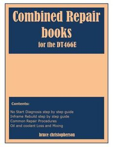 Details about Navistar International DT466E Diesel Engine Repair Manual  Book on CD