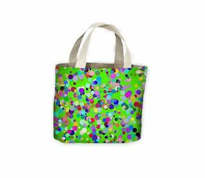Life Bag For Tote Anniversary Green Glitter Effect Birthday Shopping Celebration xnTnBH7qw