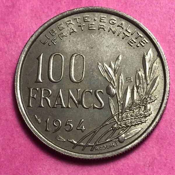#683 - 100 Francs 1954 B Cochet - Facture