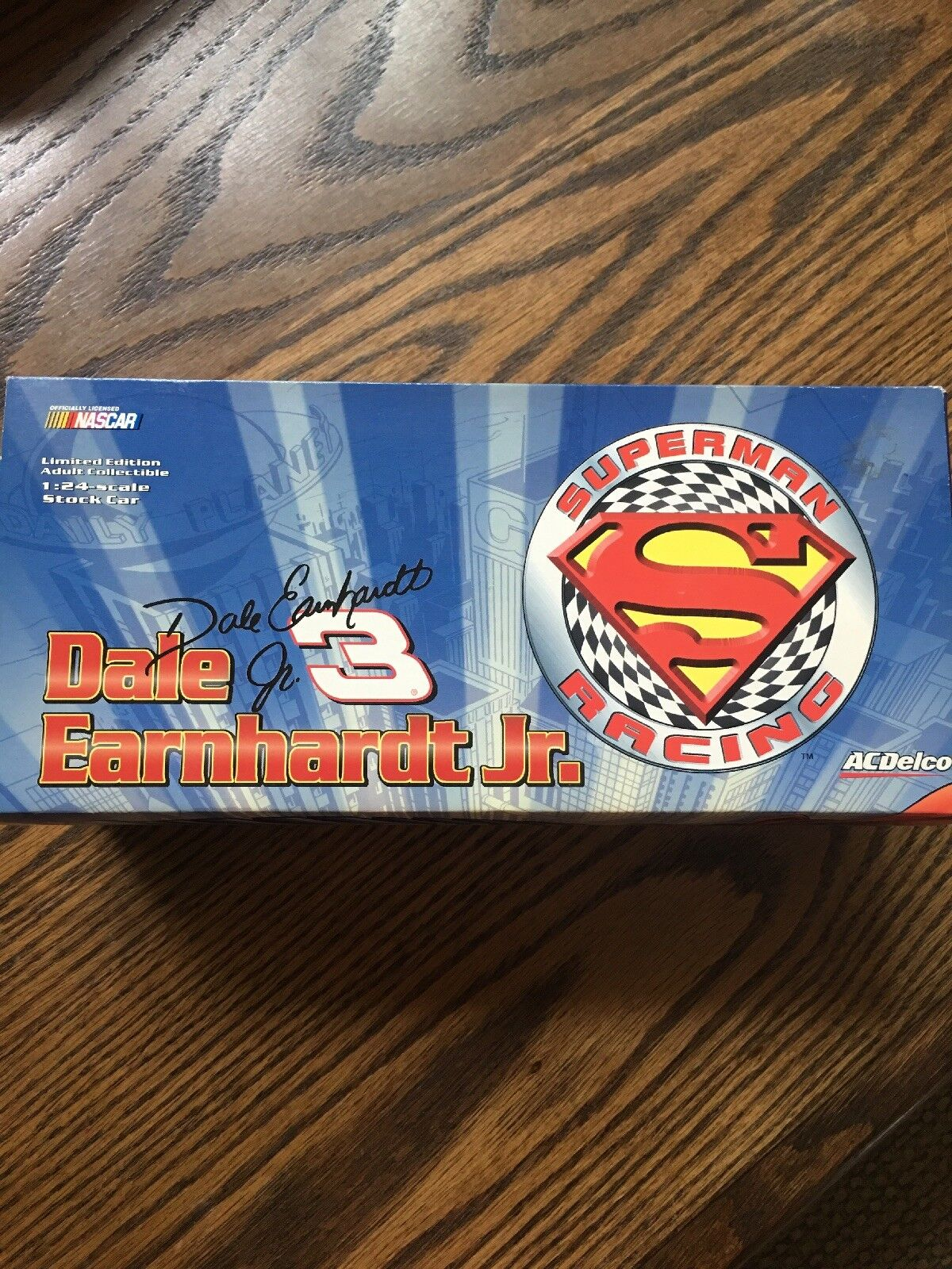 Dale Earnhardt Jr  24 Superman Diecast Car New in Box